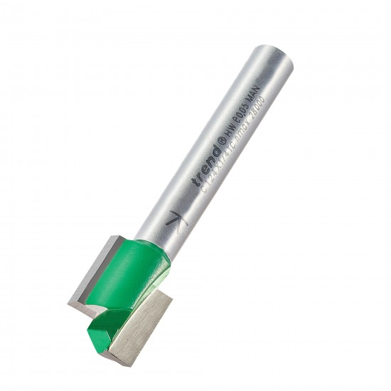 TREND C124X1//4TC CRAFT PRO Routeur Cutter Straight 12.7 mm Dia x 12.7 mm Cut
