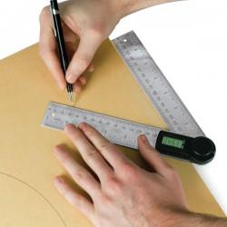 DAR/200 Digital angle rule 200mm - UK Sale only