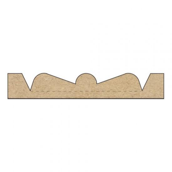 Rosette Drilling Tool Pair Knives Drill 51mm Dia Rdt 10tc