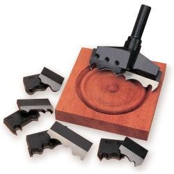 RDT/100TC Pair of knives for Rosette drill 80mm dia