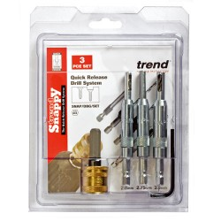 SNAP/DBG/SET Trend Snappy drill bit guide 4 piece set