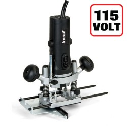 "T4ELK 850W 1/4"" Variable Speed Router 115V - UK sale only"