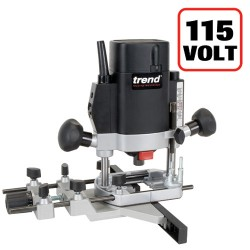 "T5ELB 1000W 1/4"" Variable Speed Router 115V - UK sale only"